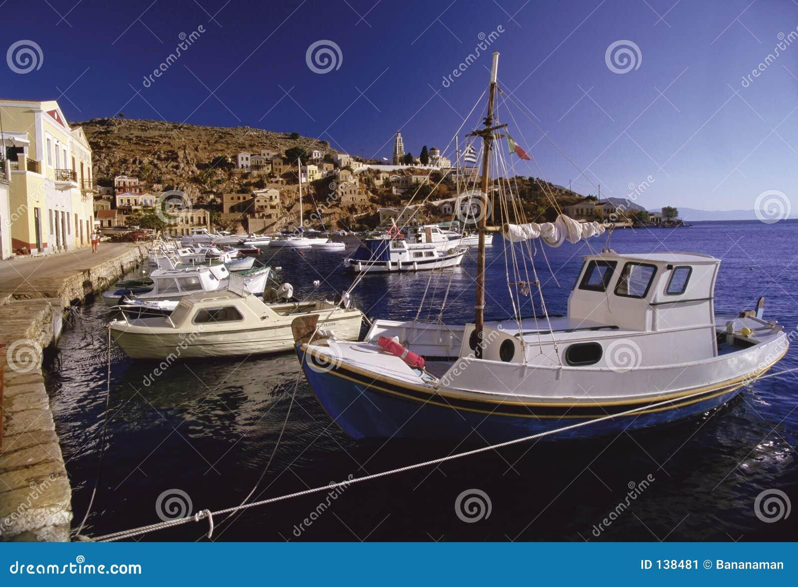 Greckie łodzi