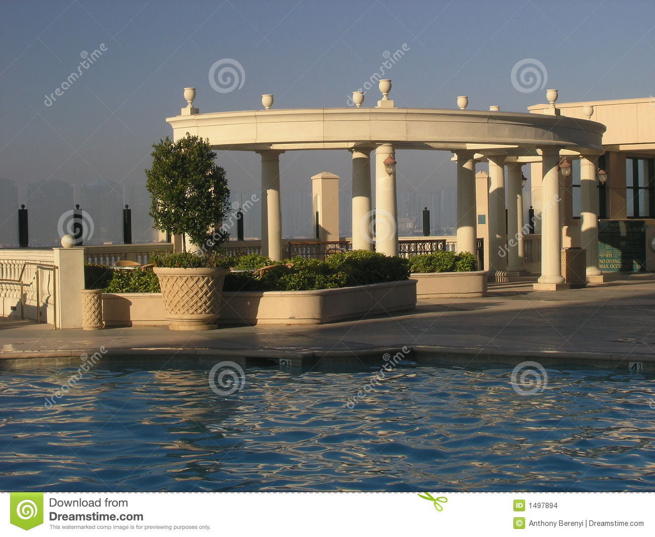 Greco Roman Pool Stock Photo Image Of Historical