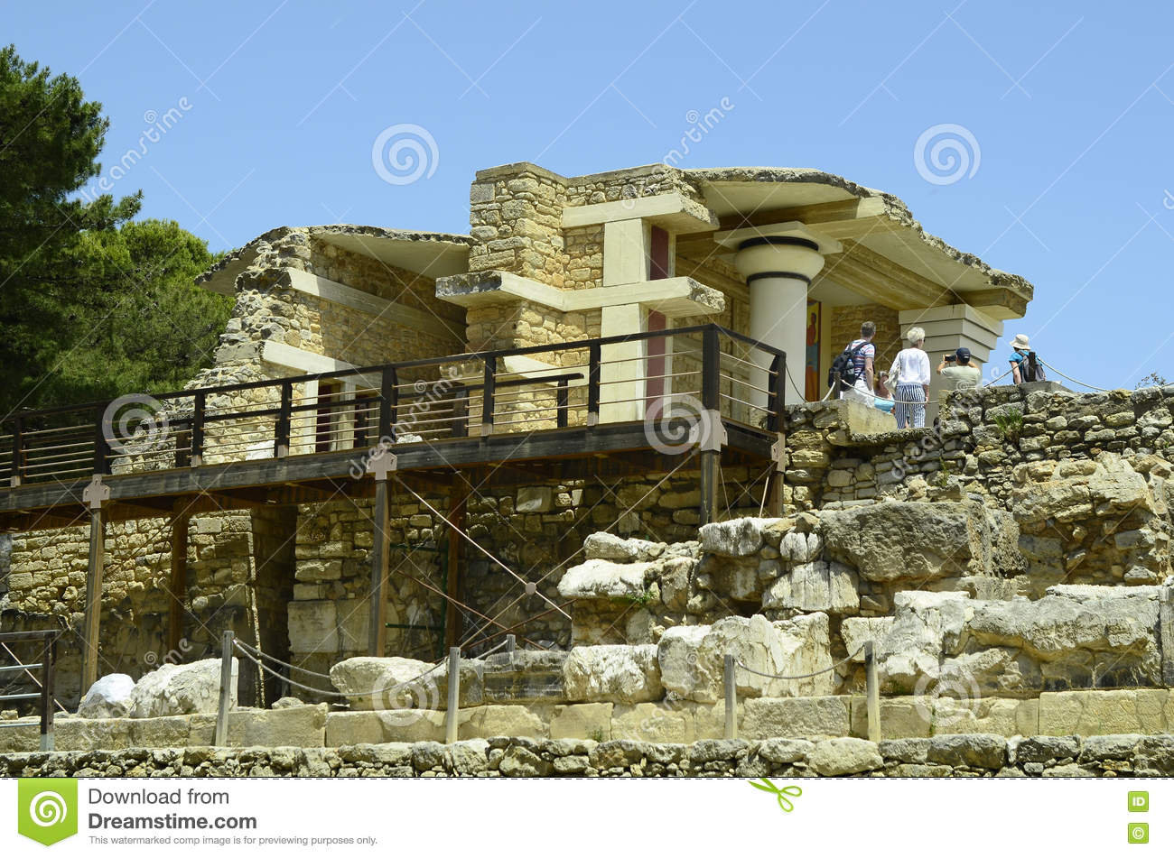 Knossos Palace in Crete. Greece, Crete: Attractions 24