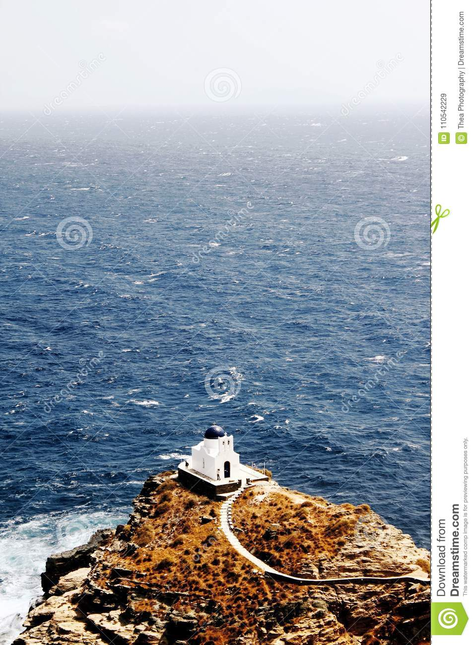 Greece, Sifnos island, the Church of Seven Martyrs