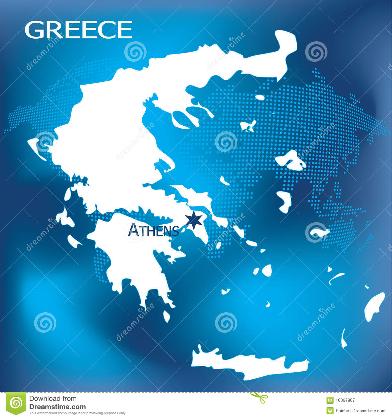 Greece map with athens stock vector illustration of network 16067867 greece map with athens with dotted world map in background gumiabroncs Image collections