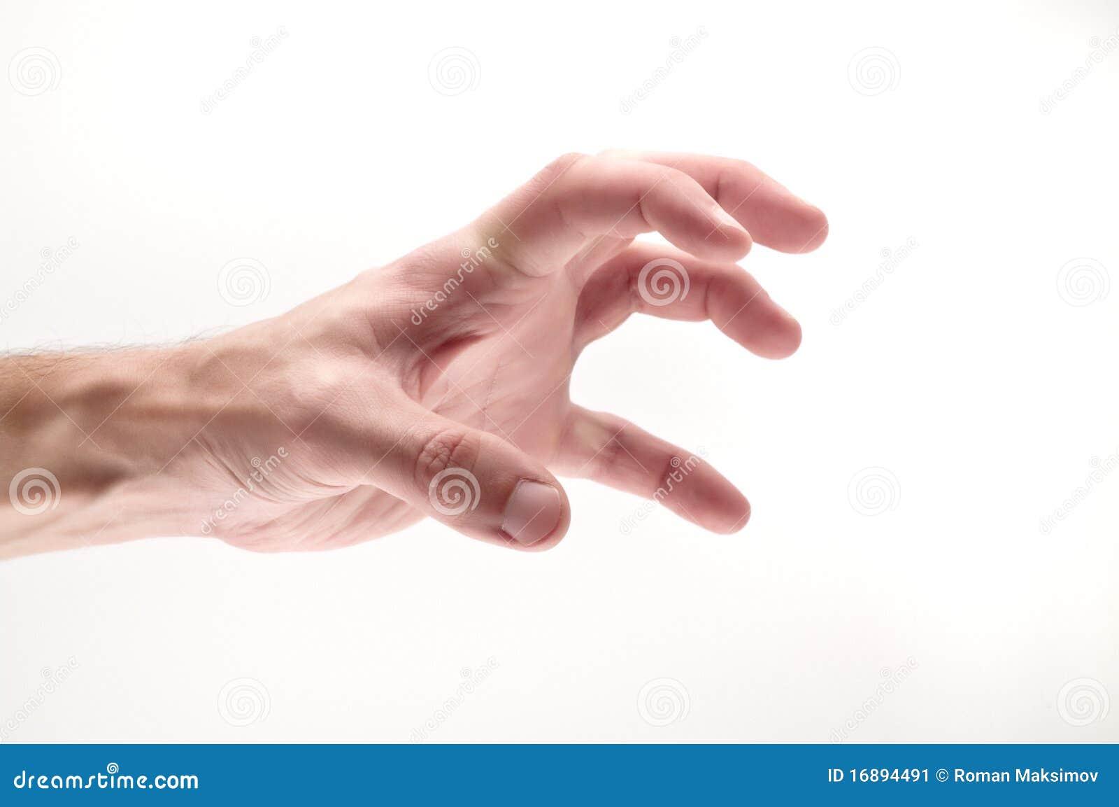 RoyaltyFree RF Clipart of Fingers Illustrations