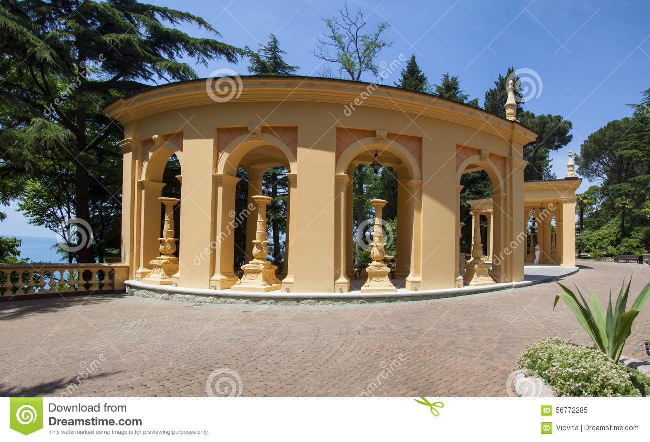 Greek Architecture In Sunny Day Stock Photo - Image: 56772285