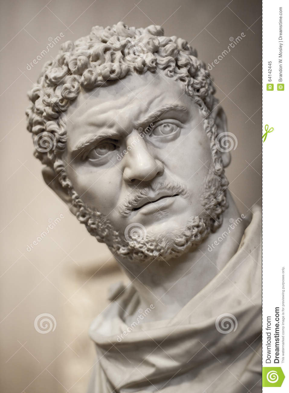 frowning male greek statue stock image image of ancient 64142445. Black Bedroom Furniture Sets. Home Design Ideas