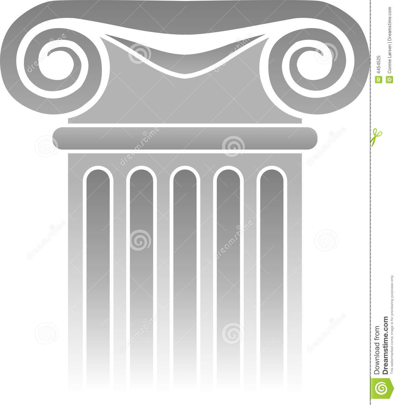 greek column detaileps royalty free stock photo image