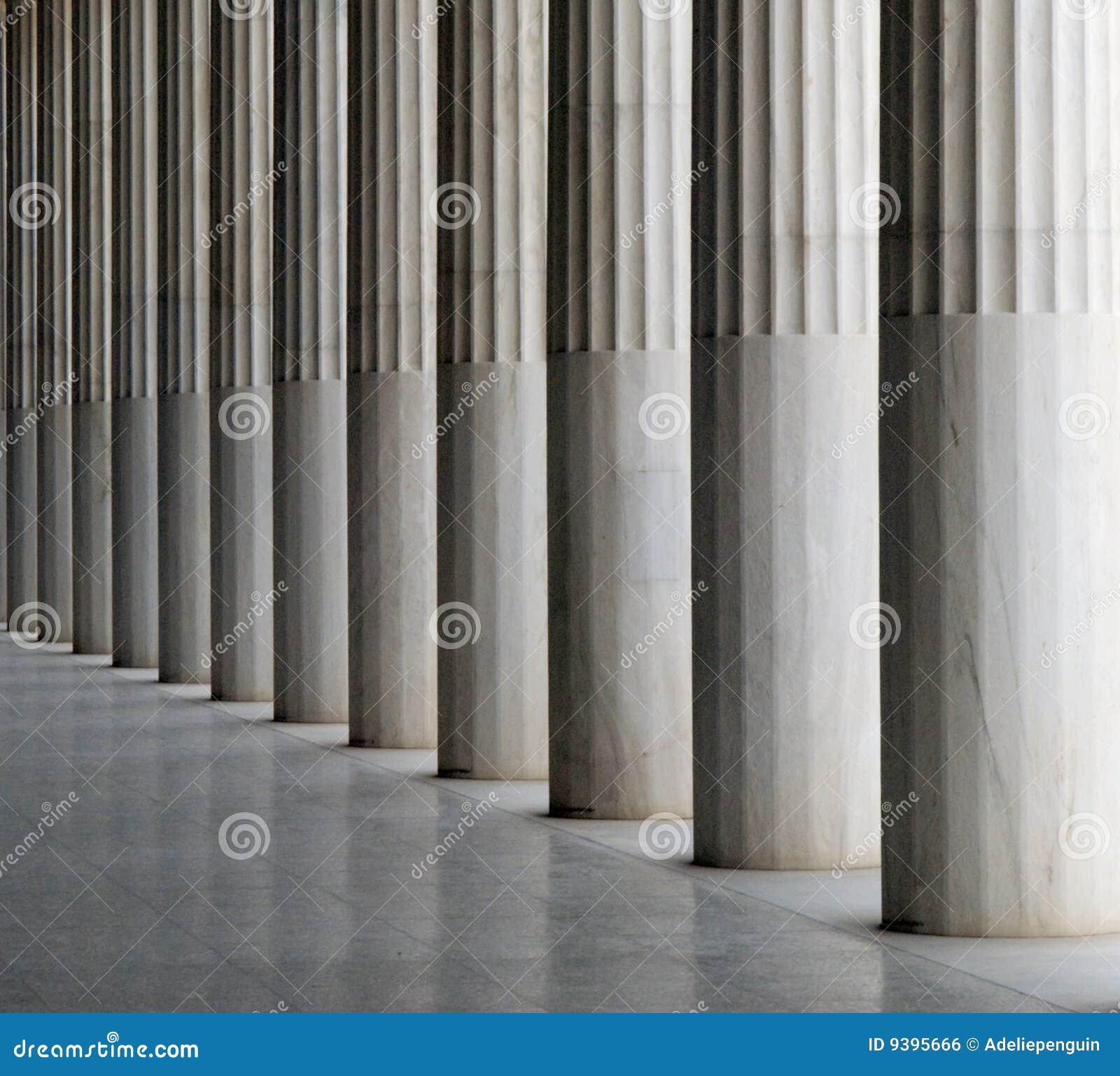 Greek Columns, Athens, Greece