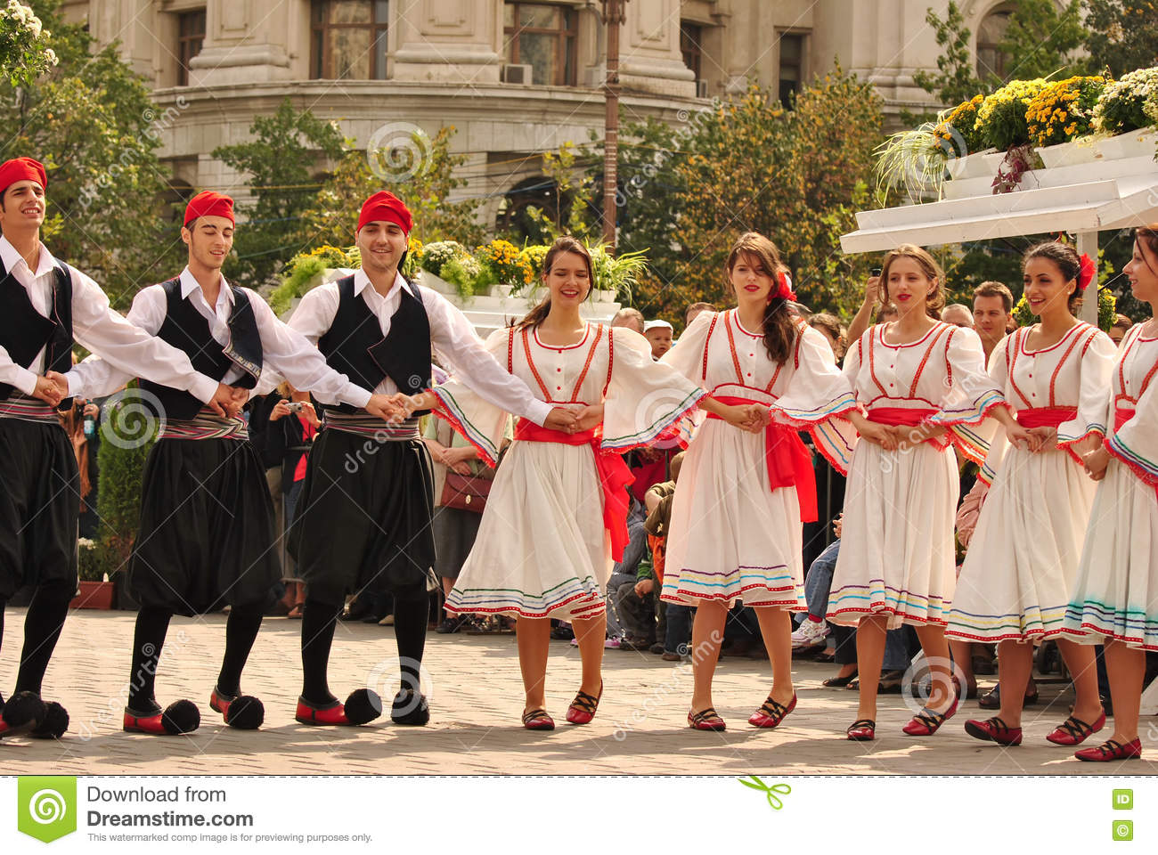 Greek dancers