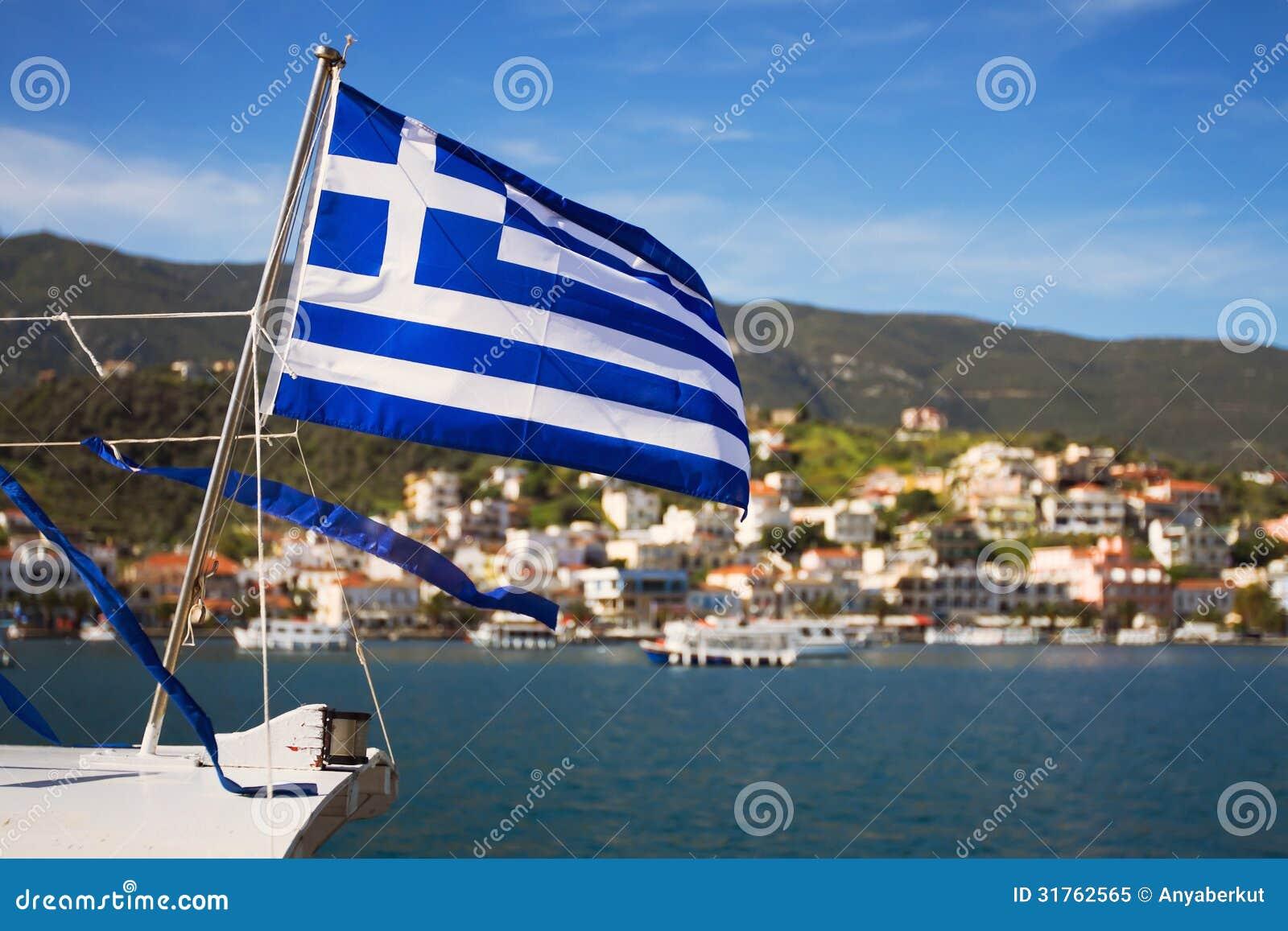 Greek Flag Royalty Free Stock Photo - Image: 31762565