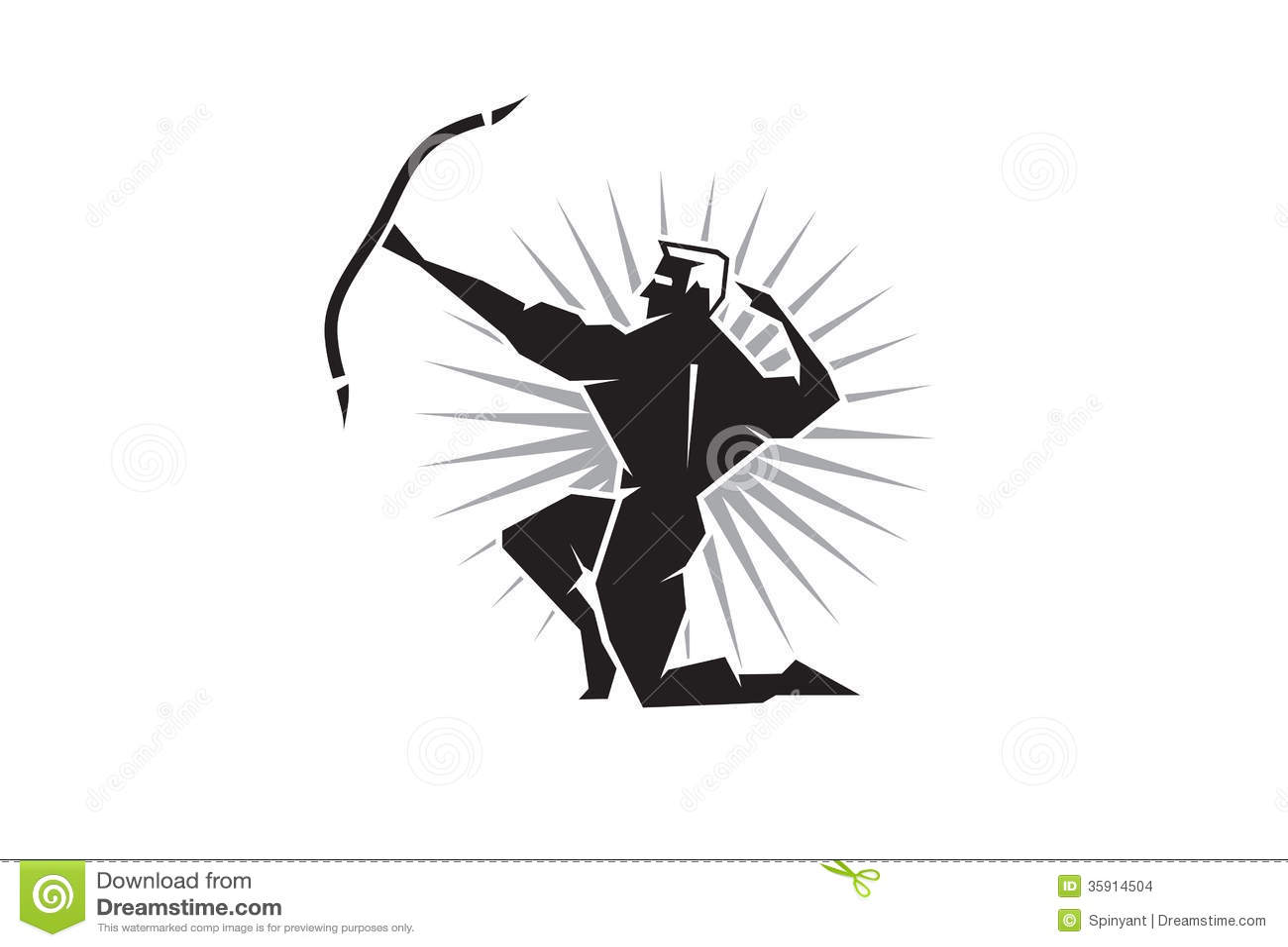Zeus Greek God Symbol Greek God Apollo Stock Images