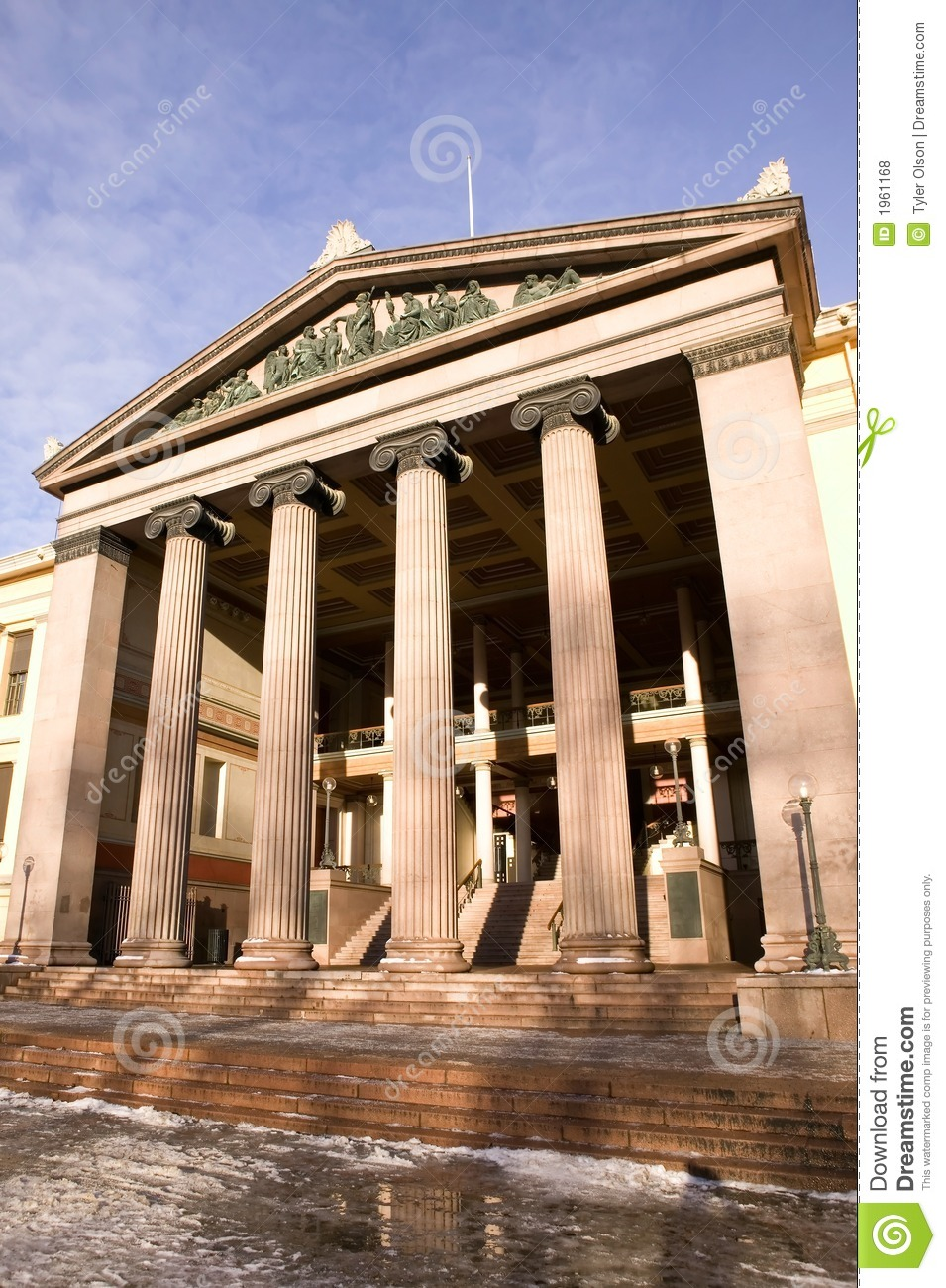 greek ionic column royalty free stock photos image 1961168