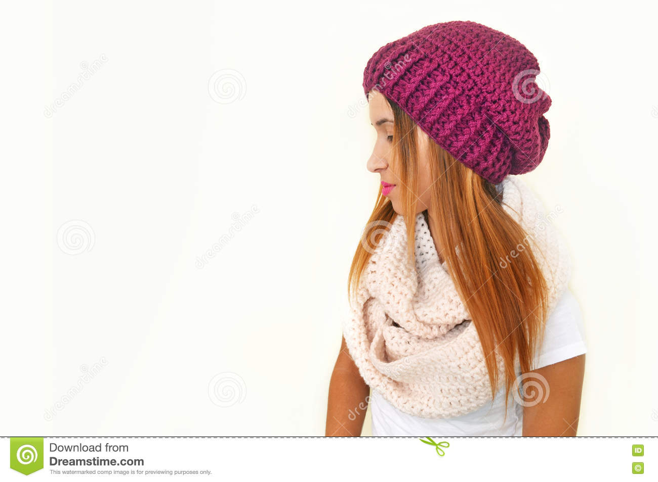 7e16d0e7f7a Greek Model Advertises Woman Accessories Stock Image - Image of ...