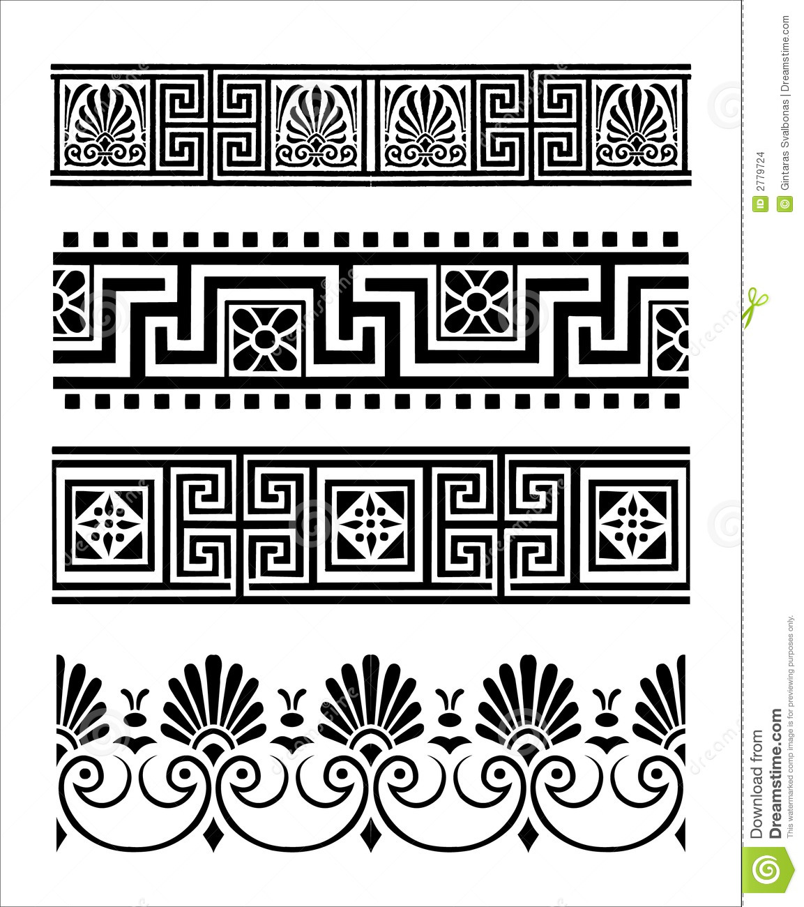 Abstract geometry pattern line and shape vector illustration design - Greek Ornaments Stock Vector Image Of Element Abstract