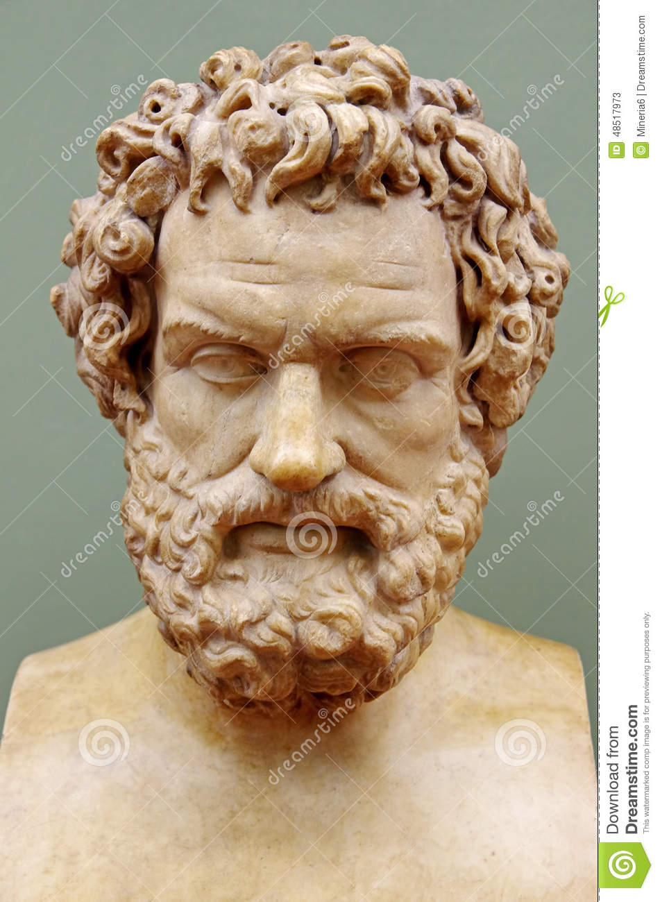 Greek Philosopher Hippocrates Stock Photo - Image: 48517973