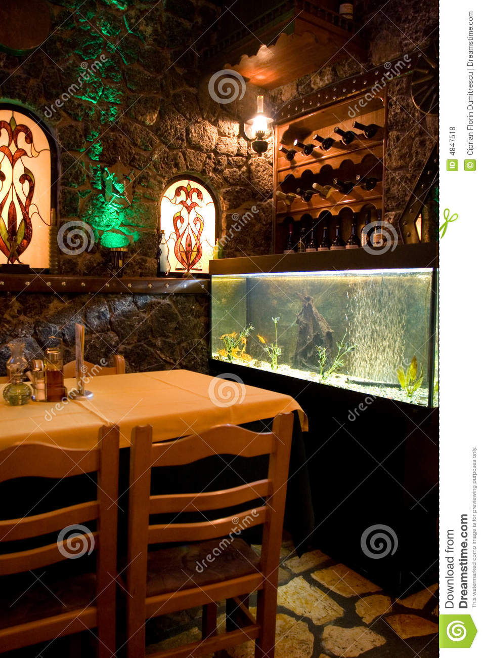 Greek restaurant royalty free stock photos image