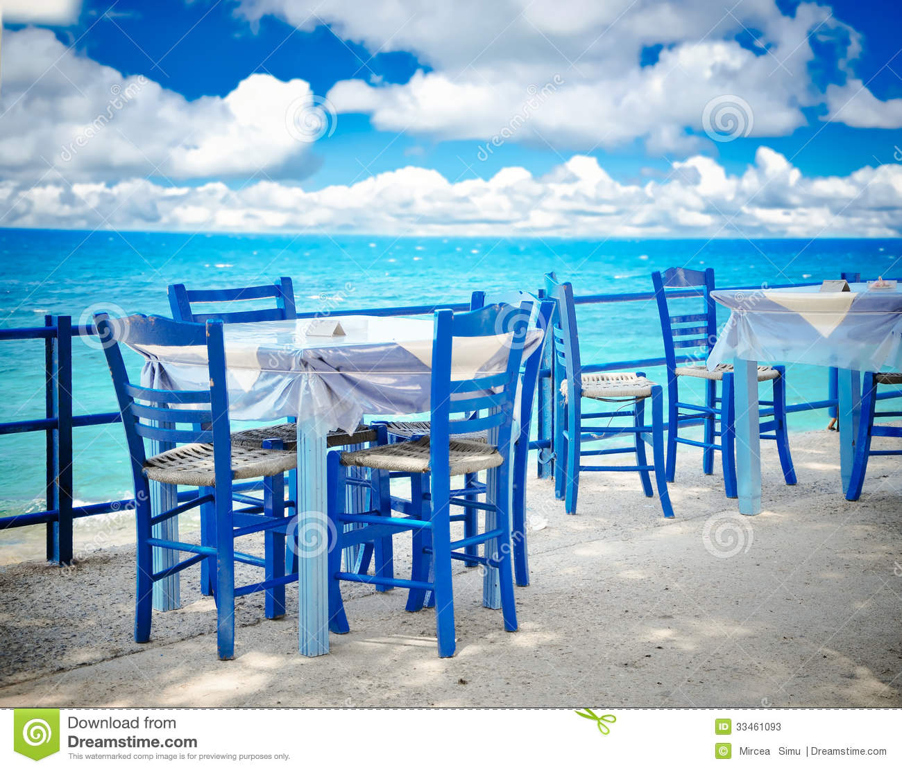 Greek Tavern Stock Photos - Image: 33461093