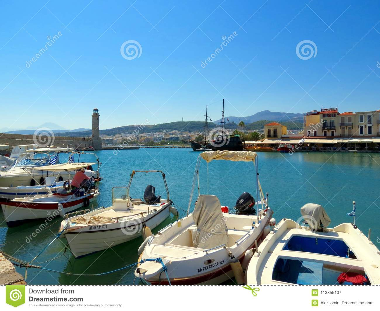 Greek Venice - the city of Rethymnon