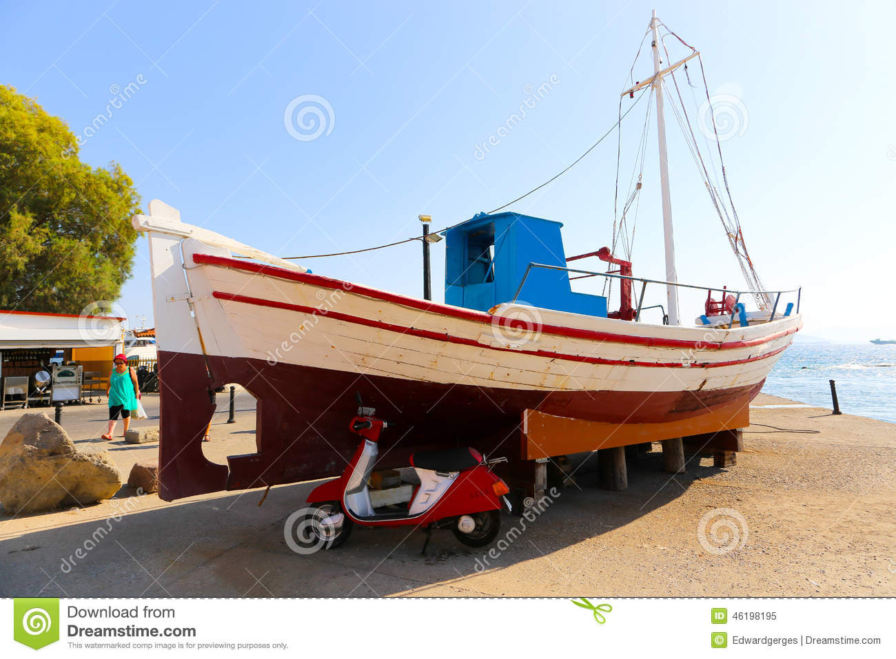 Greek yacht