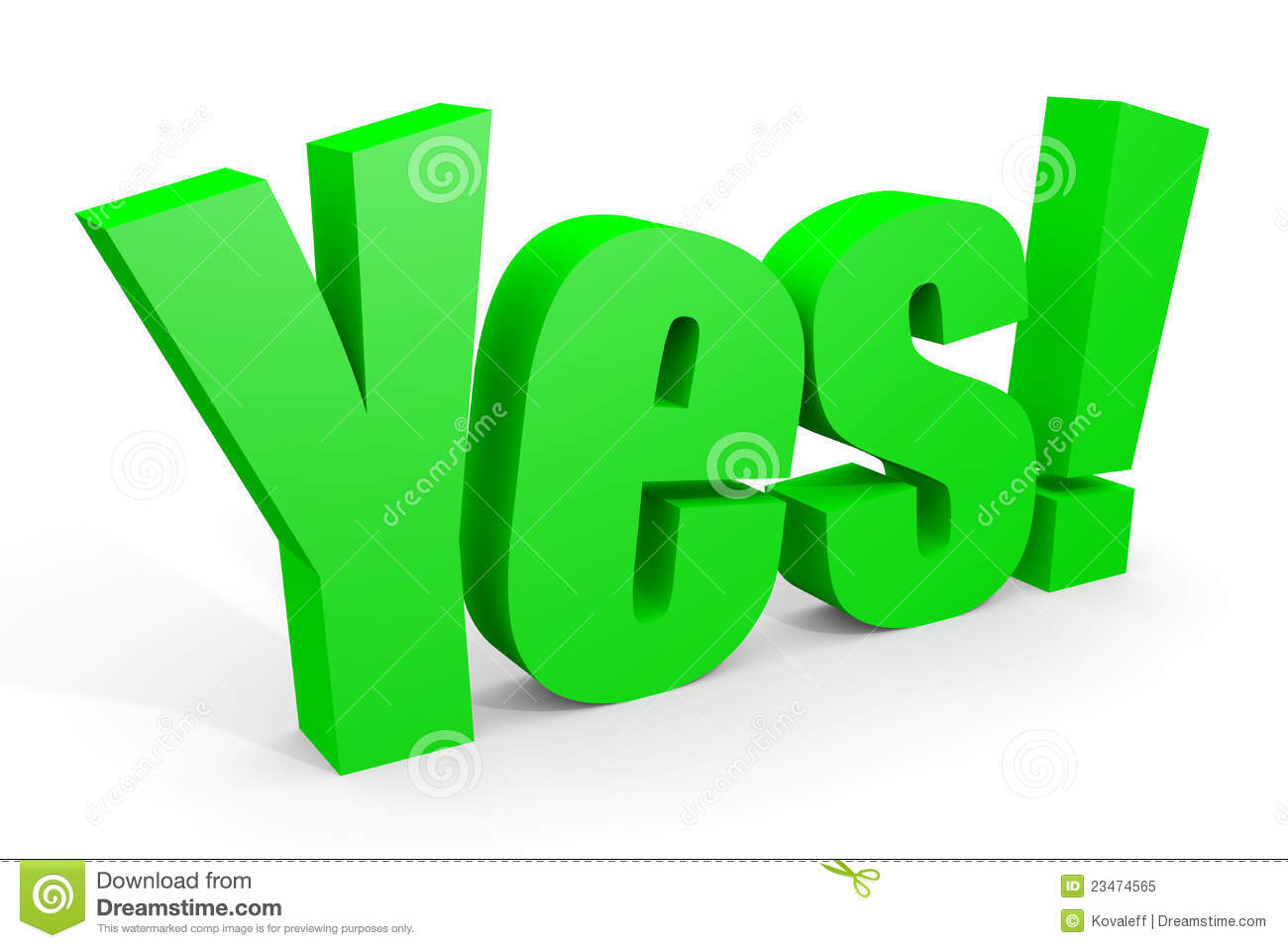 clip art of yes - photo #33