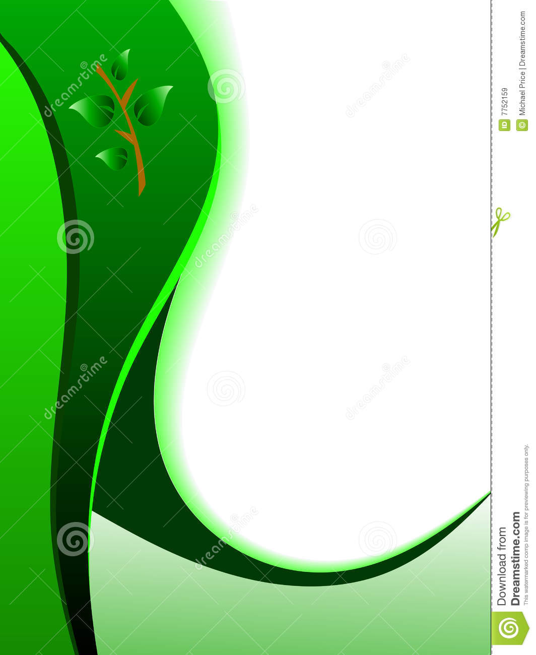 Green abstract business card background stock vector illustration green abstract business card background reheart Image collections
