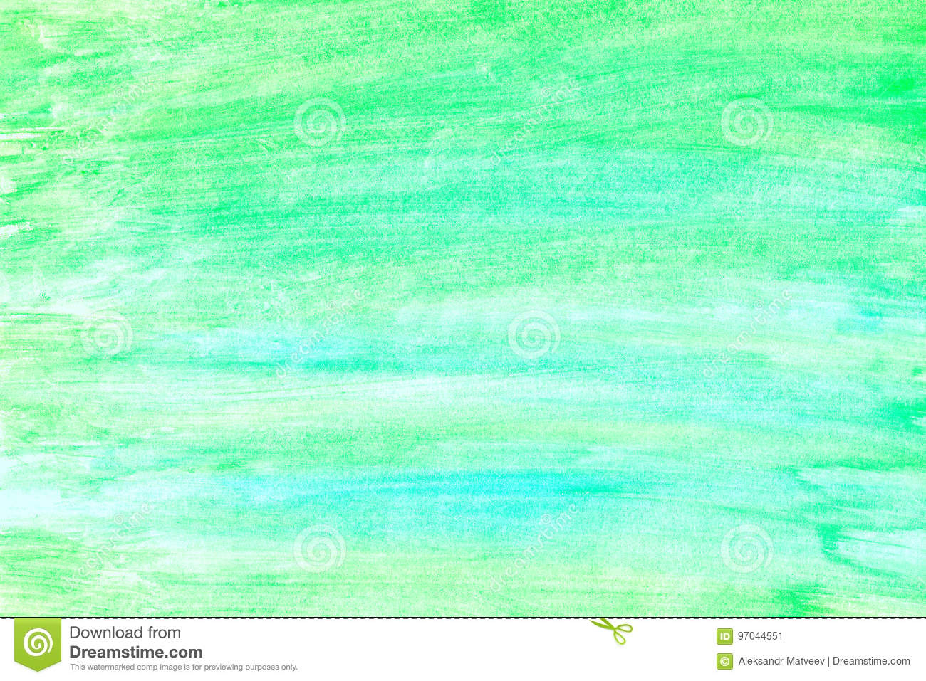 Green Abstract Watercolor Gradient Background Stock
