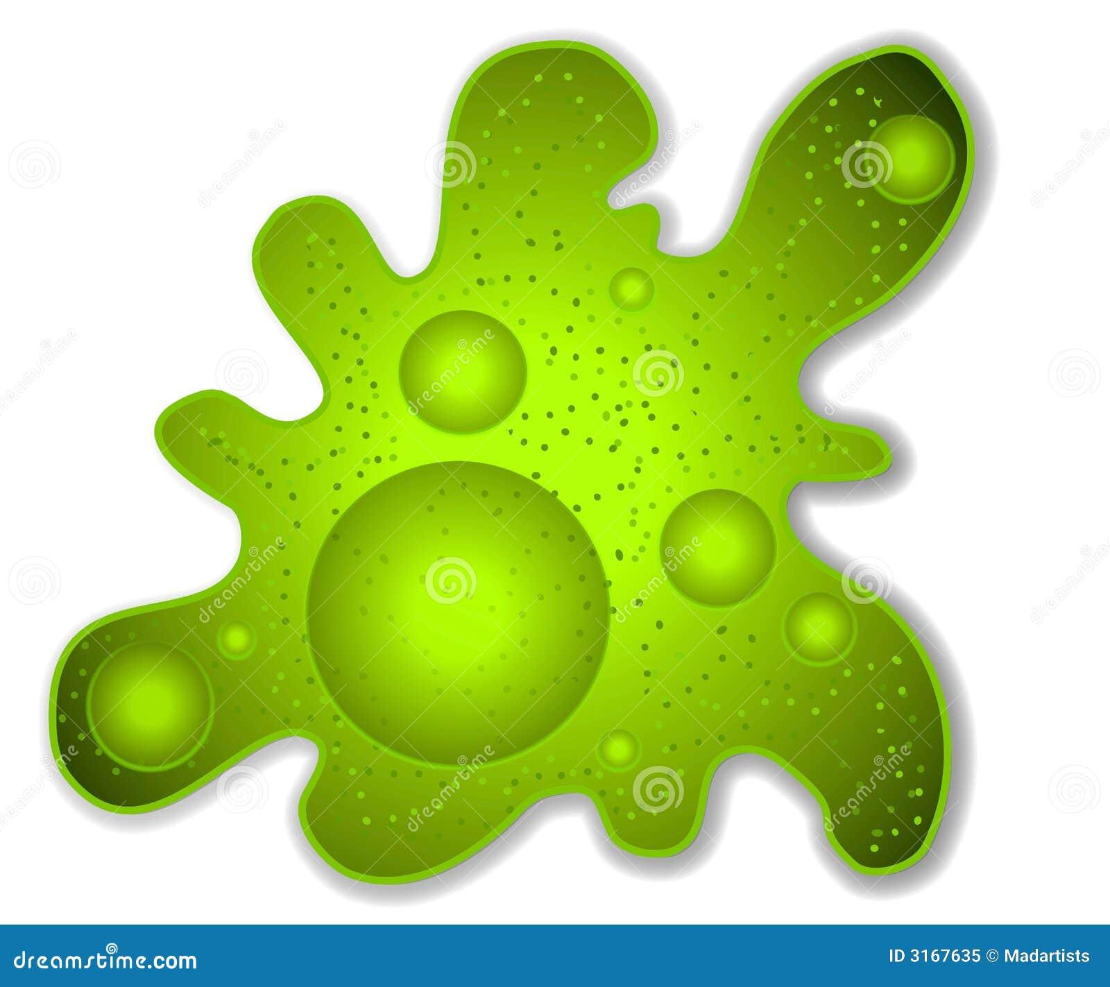 green amoeba microbe clip art stock illustration illustration of rh dreamstime com Dreamstime Girls On Bed dreamstime clipart