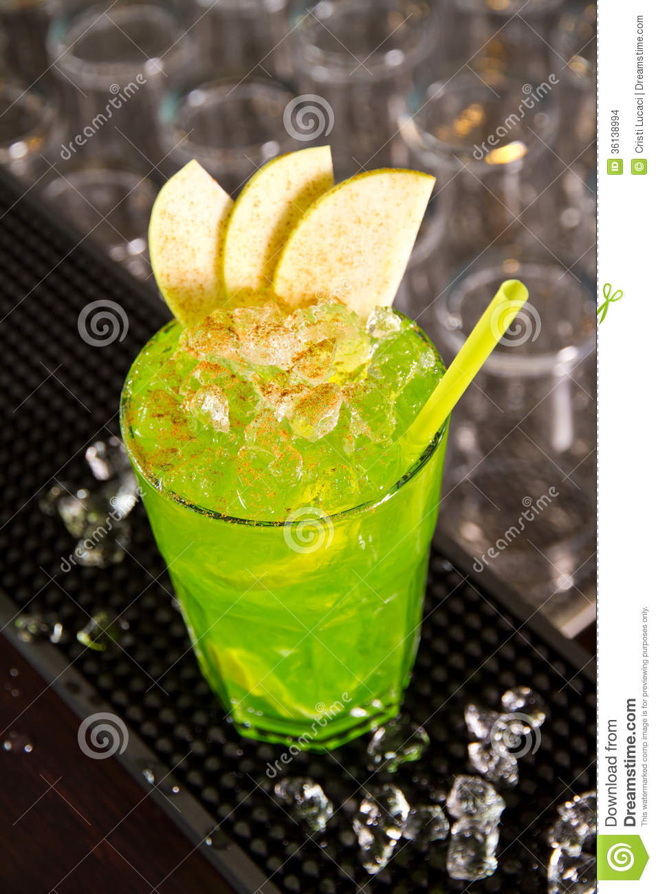 Green apple stock photo image of closeup mojito lemon for Green apple mixed drinks