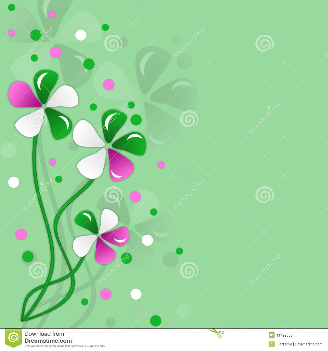 10 Green Colour Flower Images