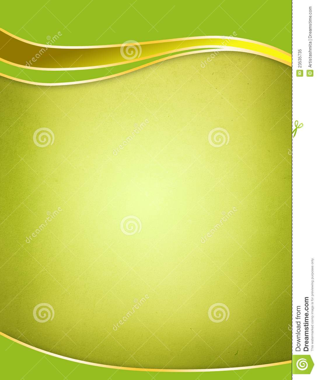 Green Background Template Stock Illustration Of