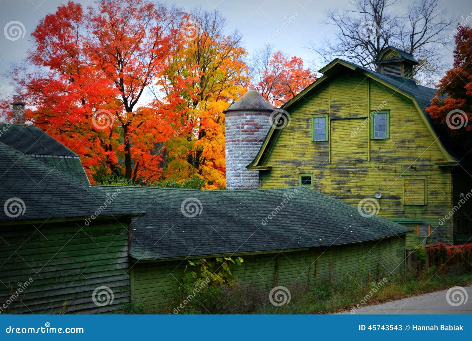 Barn Fall Colors