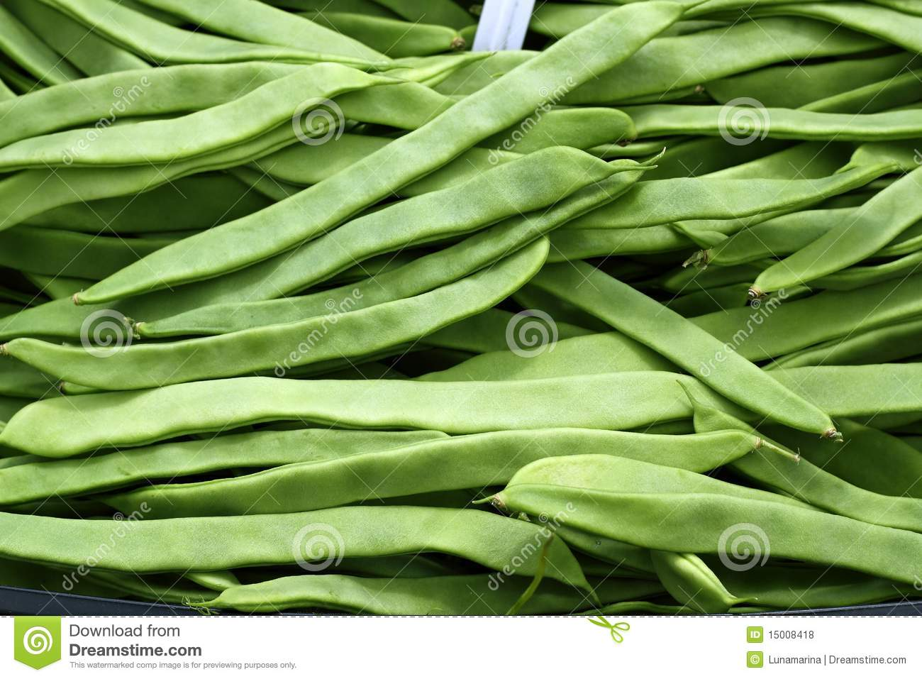 Green Beans Vegetable Texture In Spain Market Royalty Free Stock ...