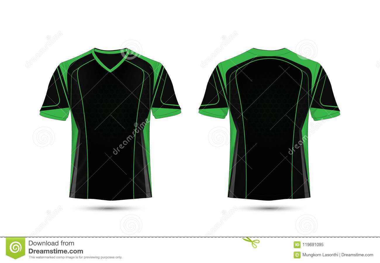 Green and black layout e sport t shirt design template stock vector download green and black layout e sport t shirt design template stock vector maxwellsz