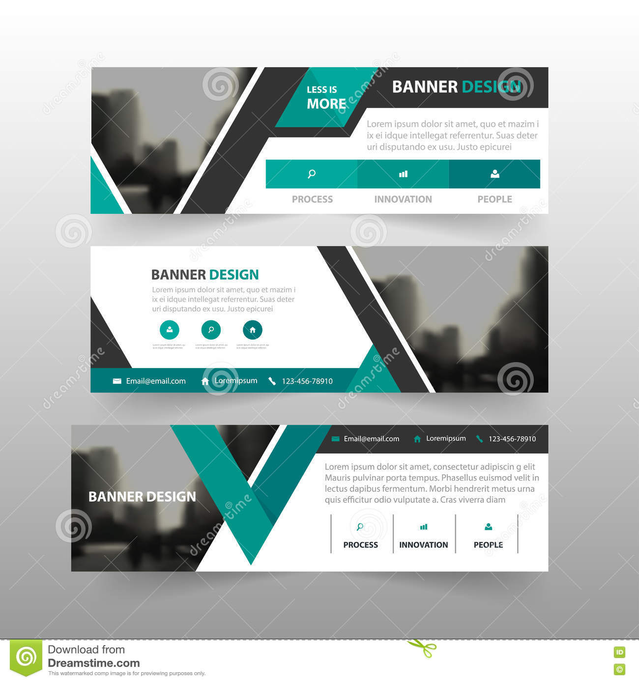 green black triangle corporate business banner template horizontal advertising business banner. Black Bedroom Furniture Sets. Home Design Ideas