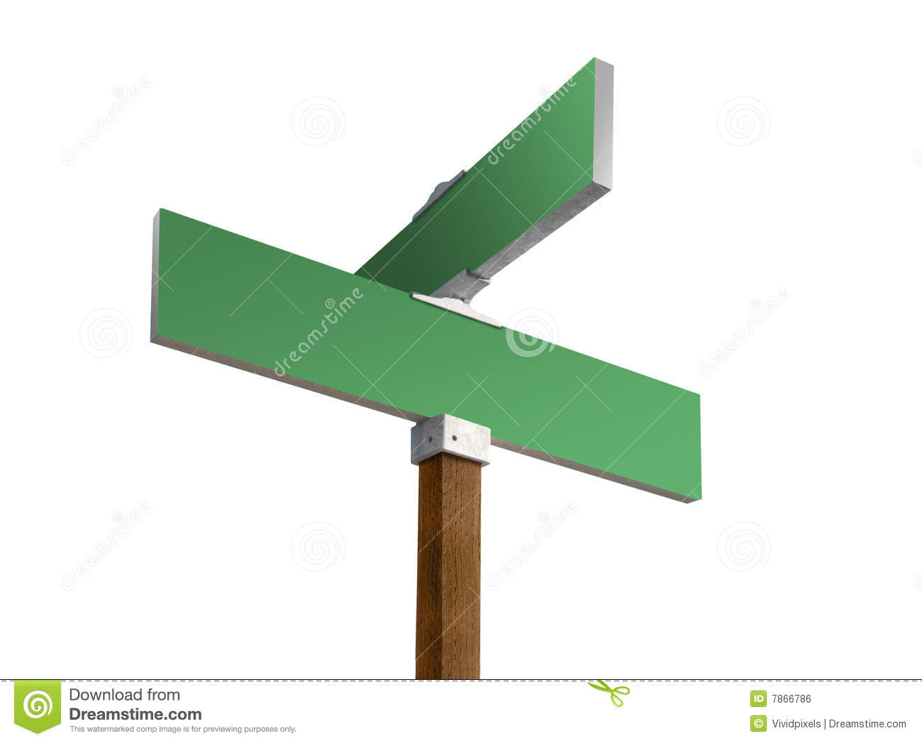 Blank street sign stock illustration. Illustration of drawing - 884773