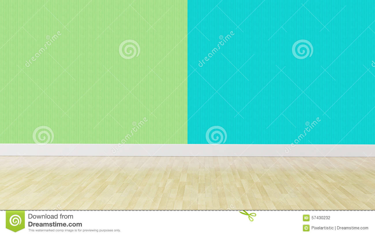 Green Blue Pastel Color Interior Background Stock Photo ...