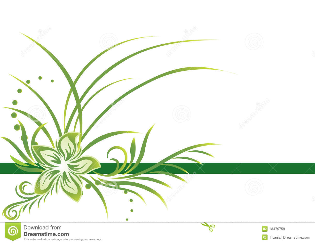 Green Border Royalty Free Stock Images - Image: 13479759