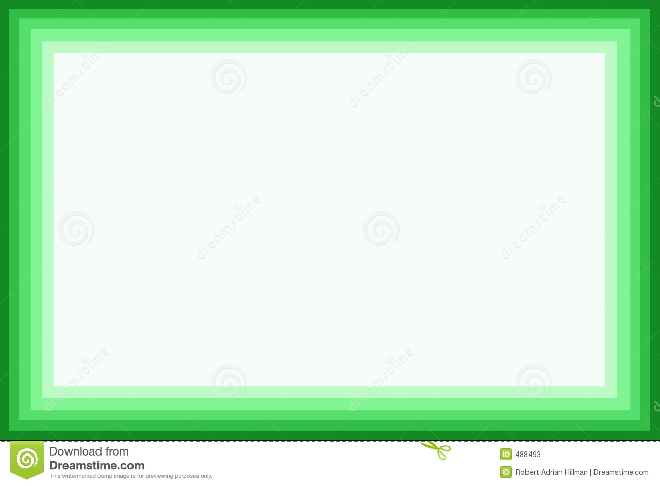 Green Border Stock Photos - Image: 488493