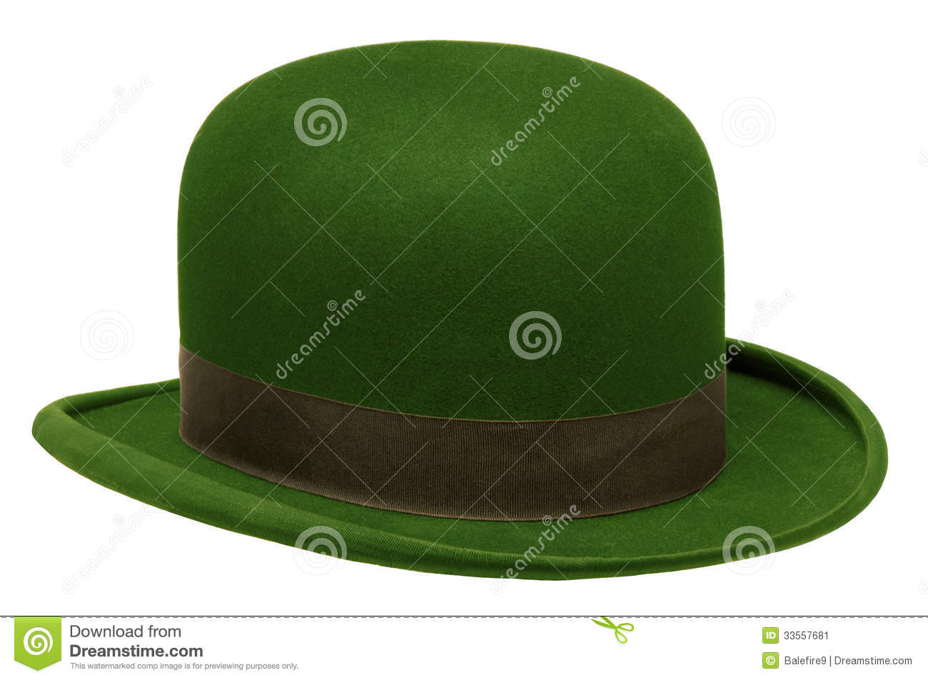b6e8d257c0e Stock image green bowler derby hat isolated against white background image  jpg 1300x953 Green bowler hat