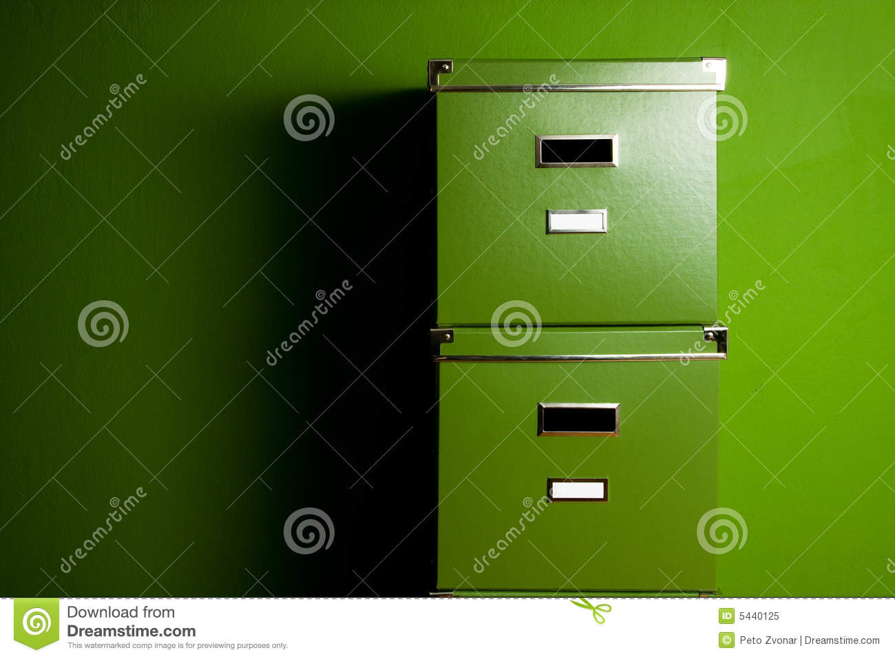 Green boxes