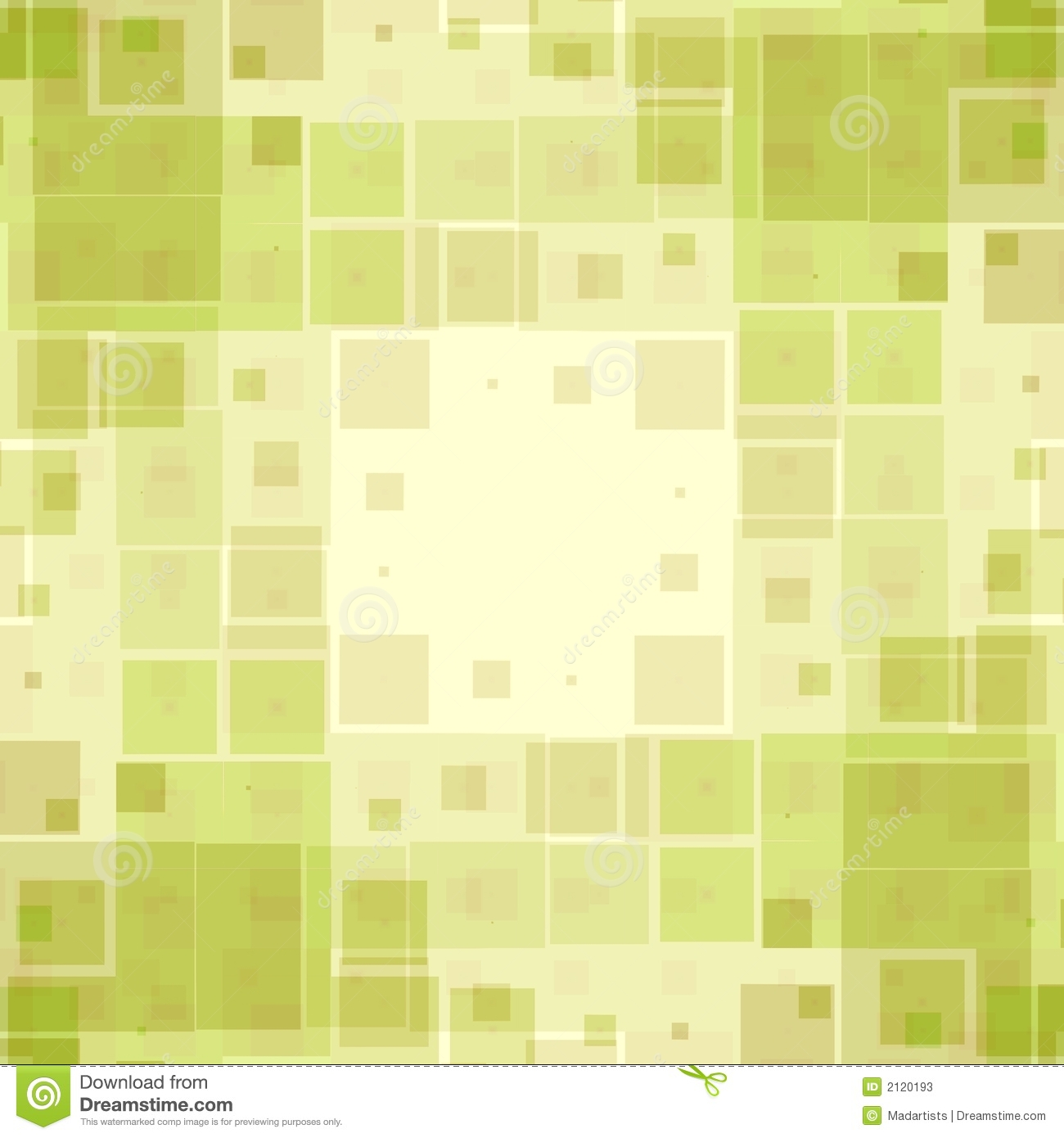 Green Boxes Texture Pattern