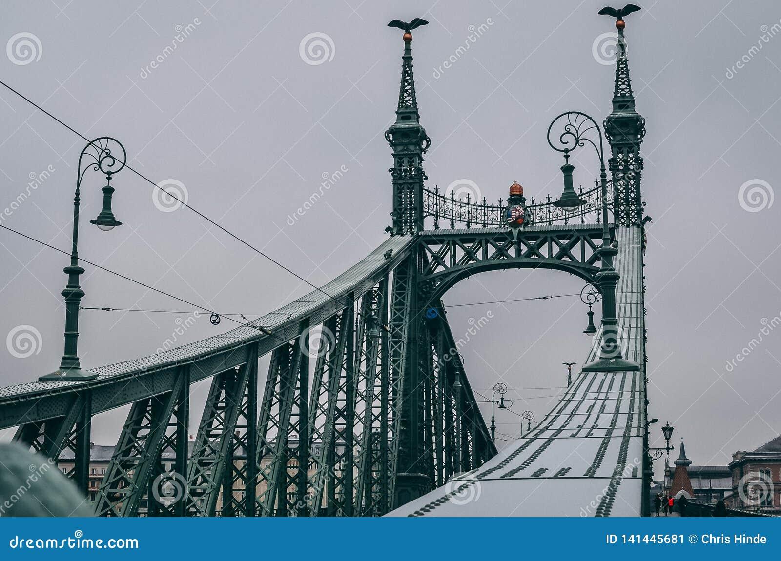 Green bridge hungary