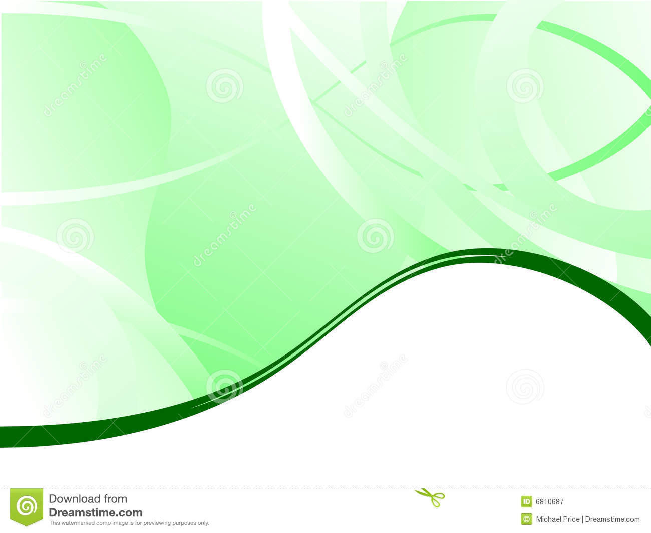 Green Business Background Royalty Free Stock Photography