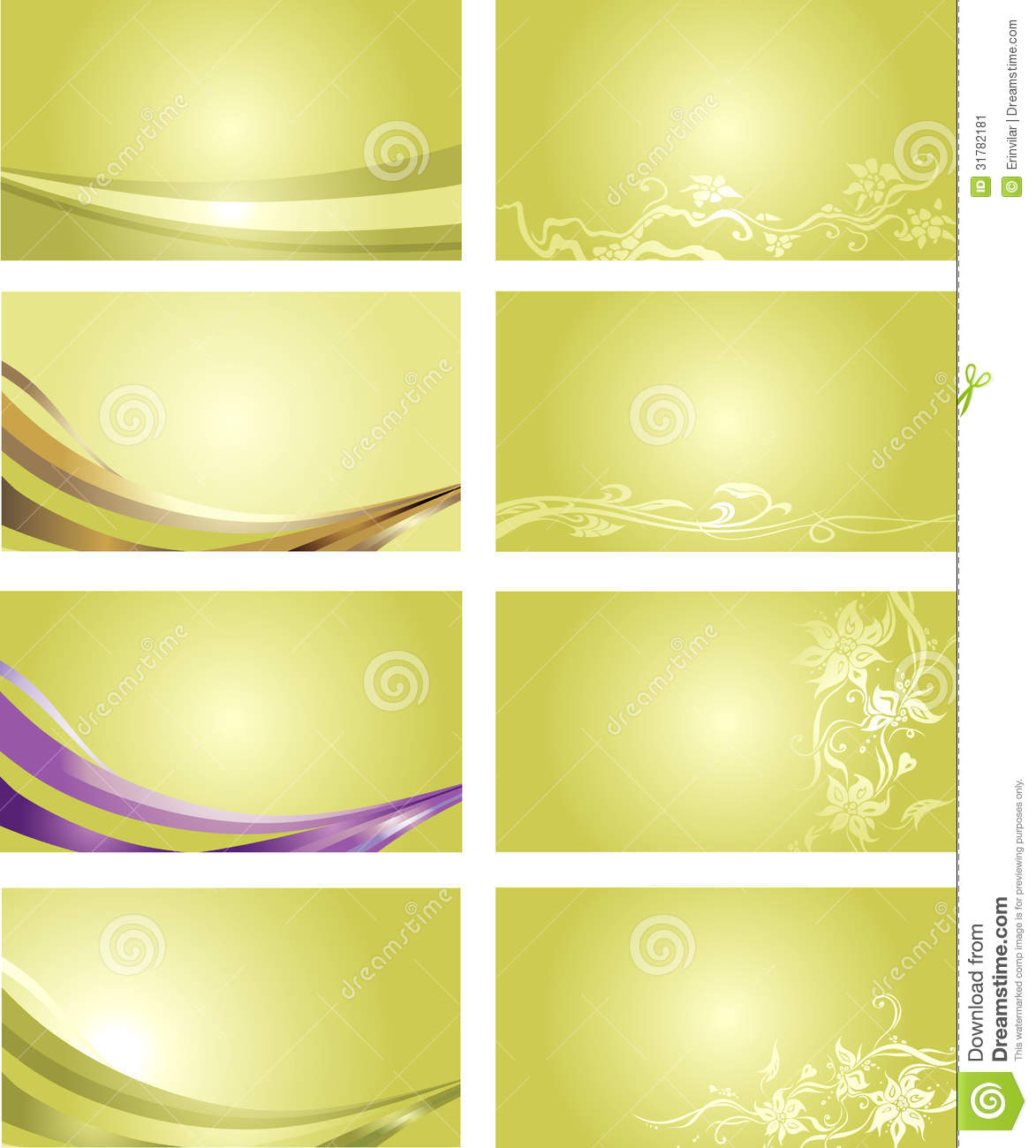 green business card background stock illustration image 31782181