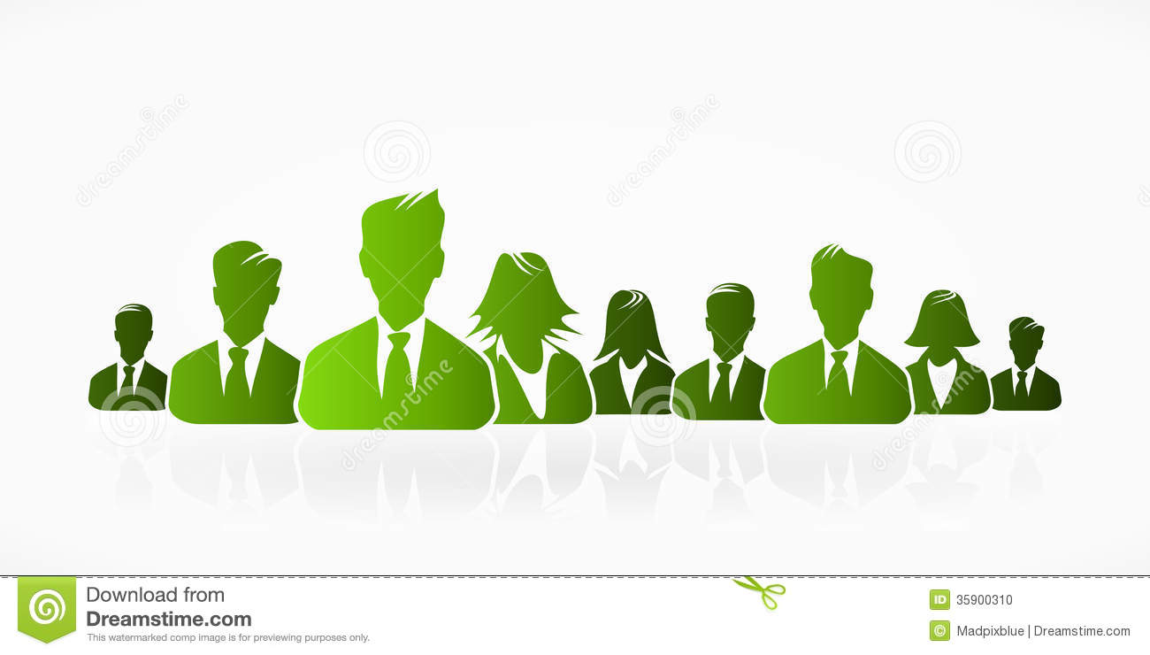 green business stock vector  illustration of business
