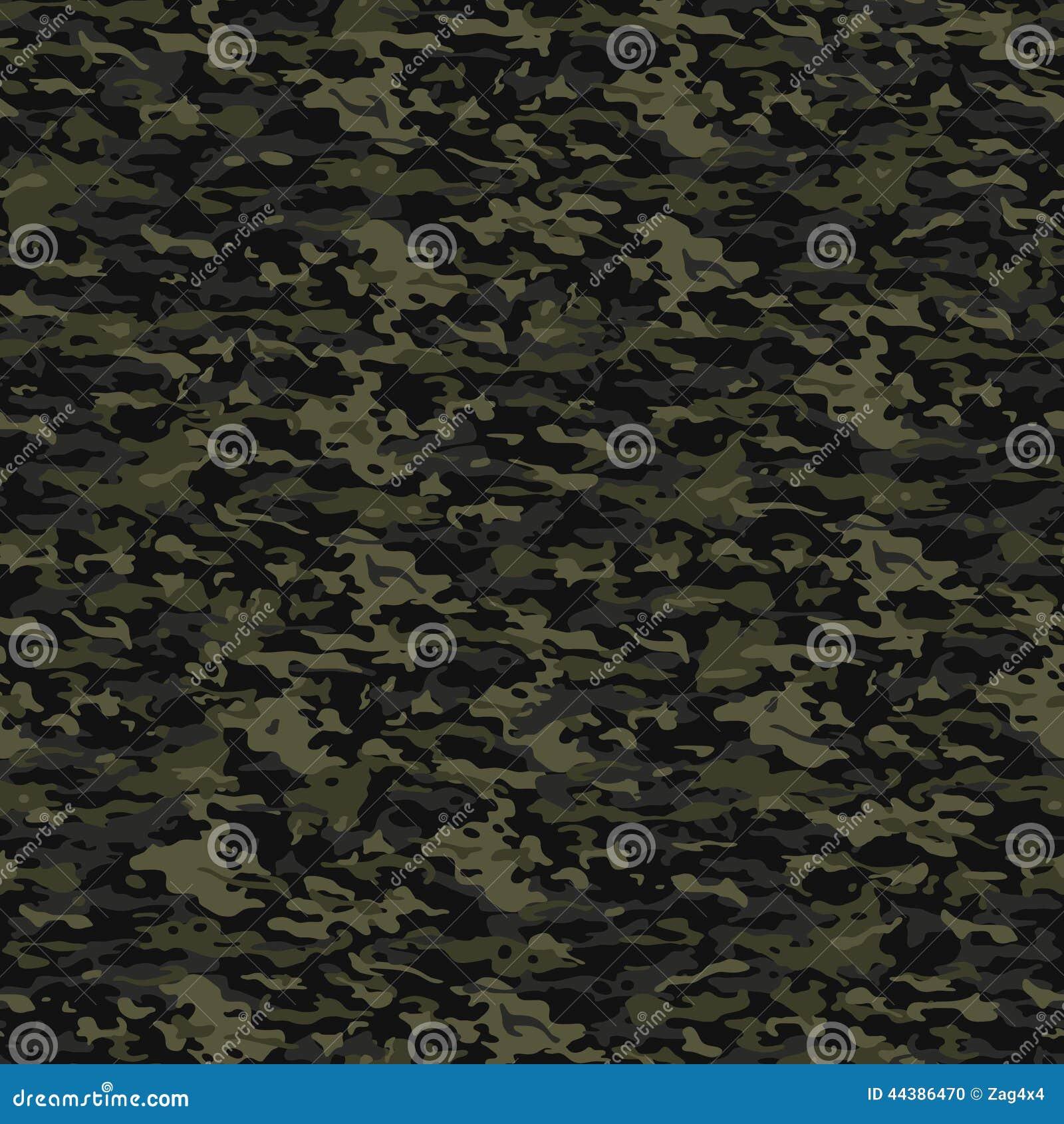 Green Camouflage Stock Illustration - Image: 44386470