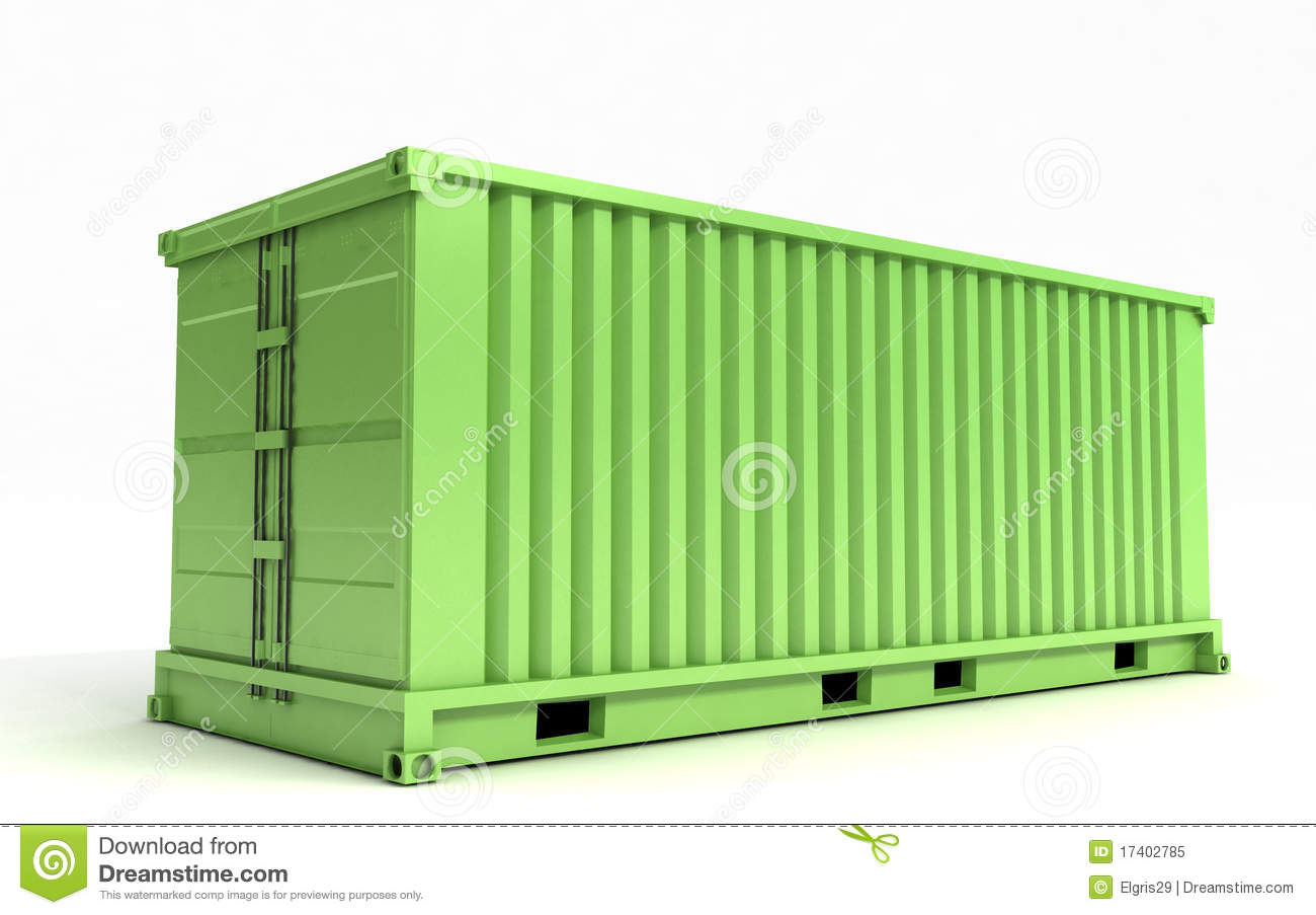 Royalty-Free Stock Photo. cargo container ...