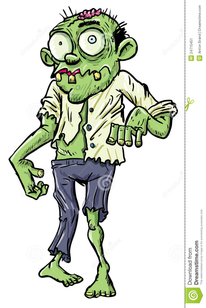 Cartoon zombies cartoon pictures