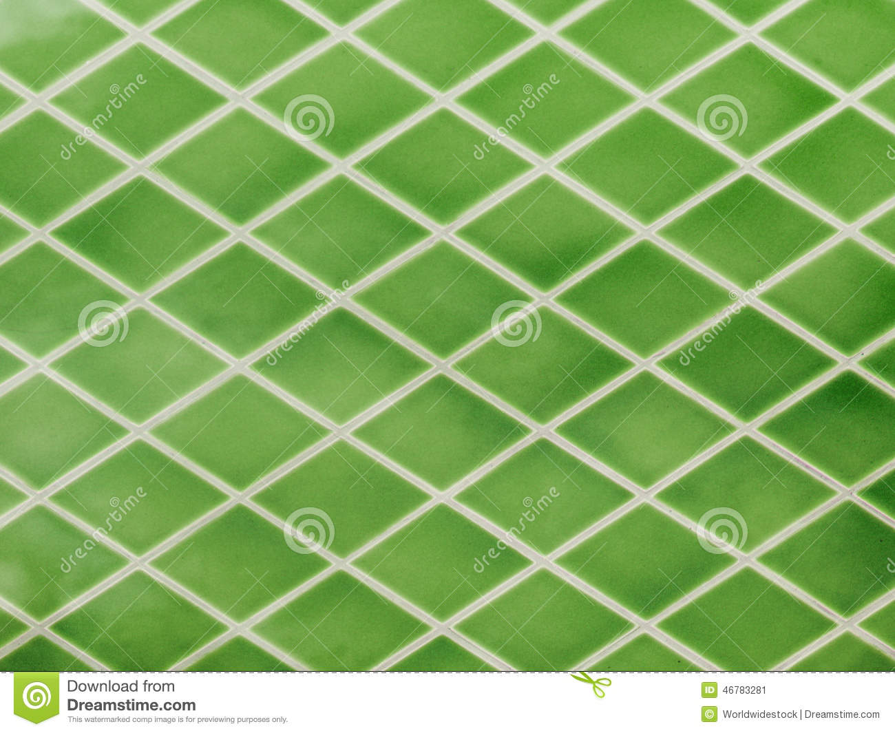 Green Ceramic Tiles Stock Illustration Image 46783281