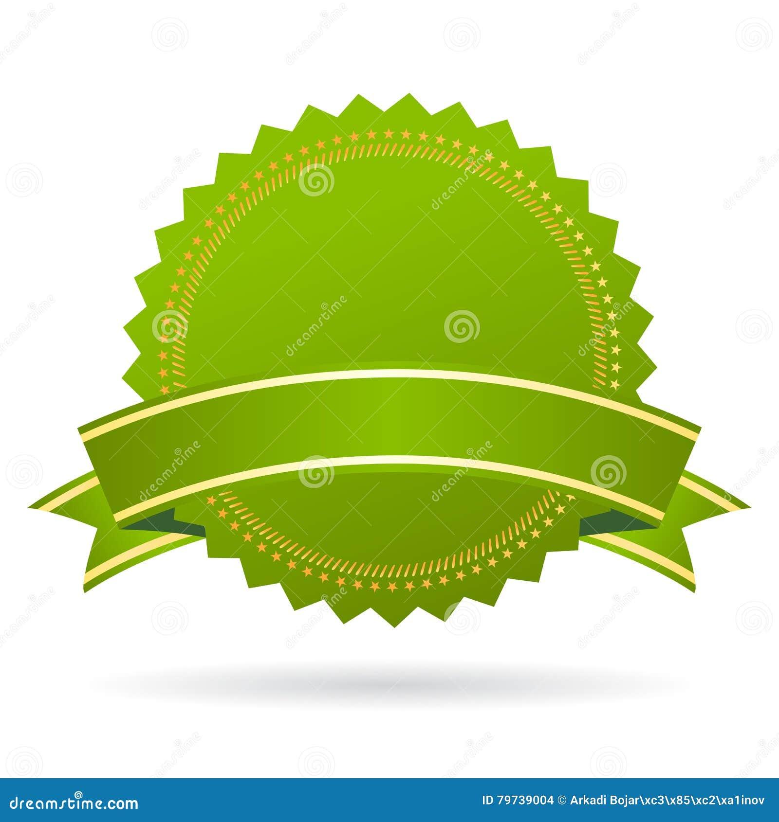 Green Certificate Seal Stock Vector Illustration Of Certificate