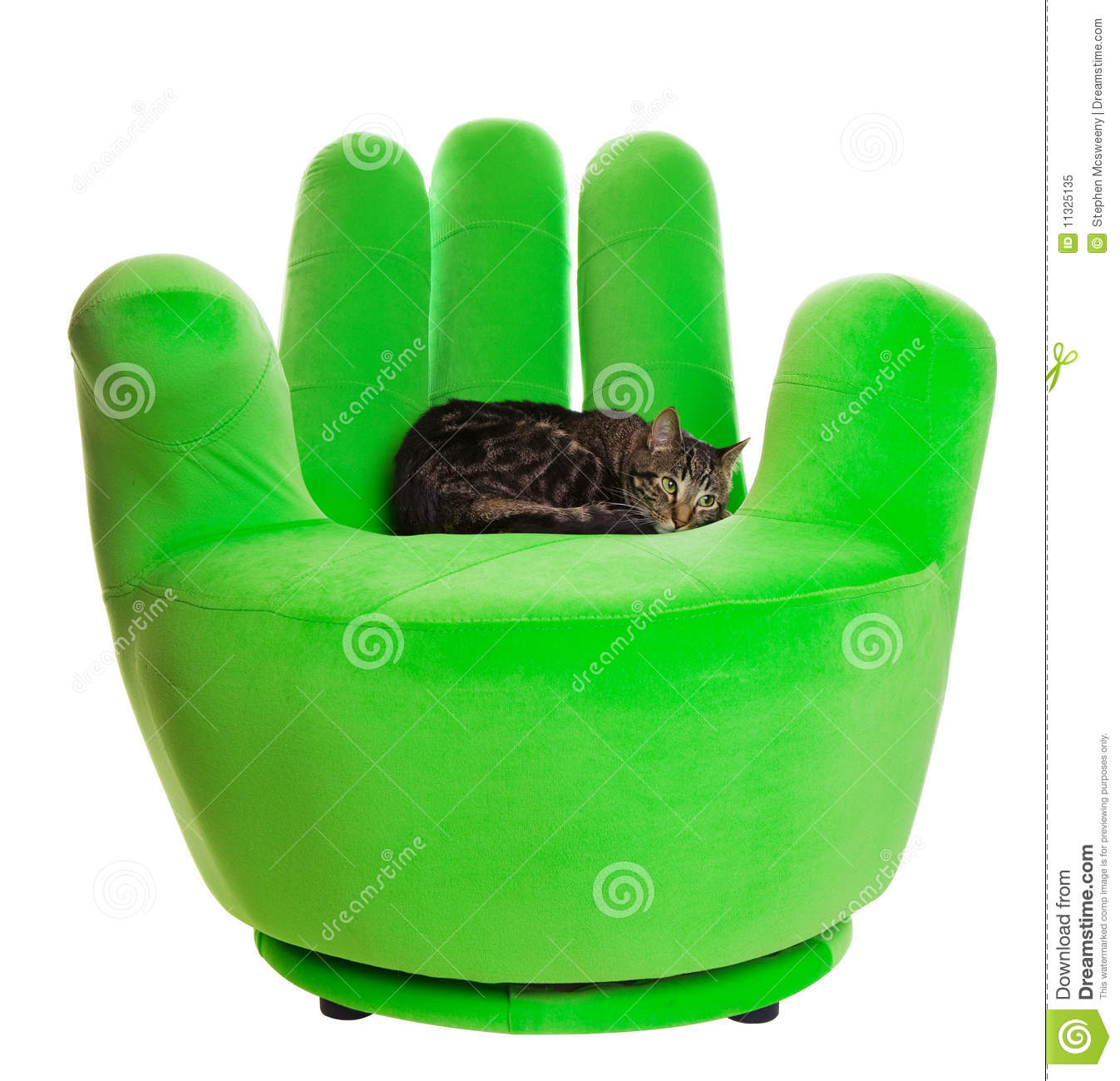 Green Chair Royalty Free Stock Photo - Image: 11325135