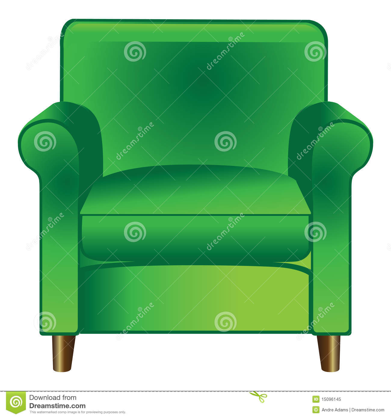 Green Chair Royalty Free Stock Photo Image 15096145